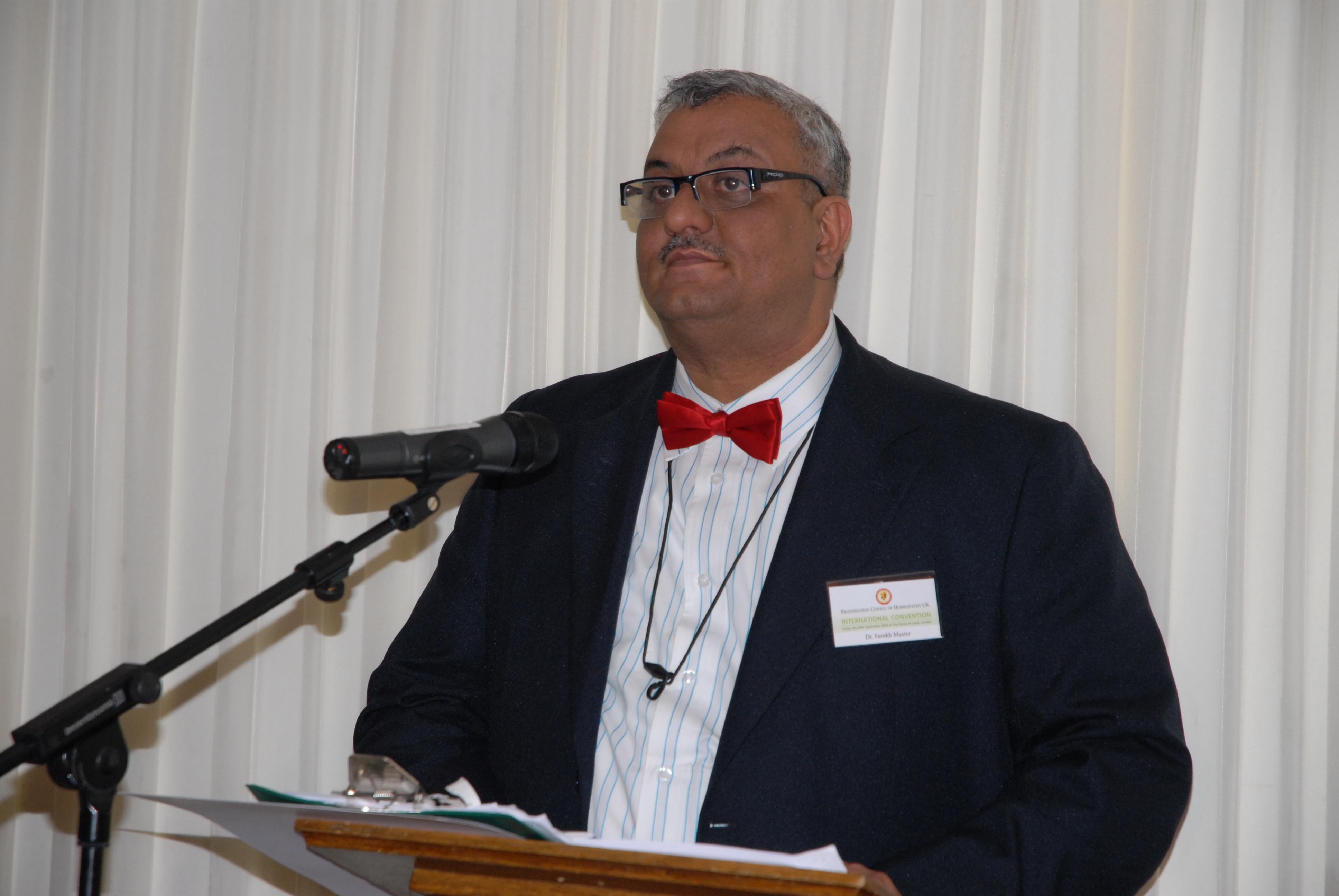 Dr. Farokh Master